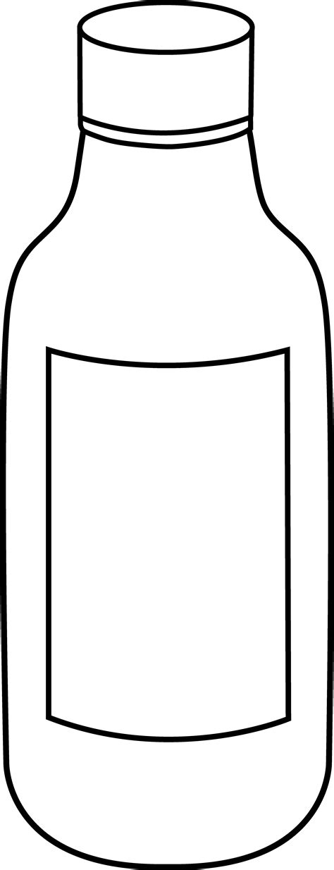 black and white chagne bottle clipart water bottle clipart black and white clipart panda