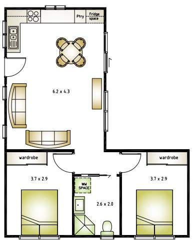 small l shaped house plans image result for l shaped 50 sqm flat plan