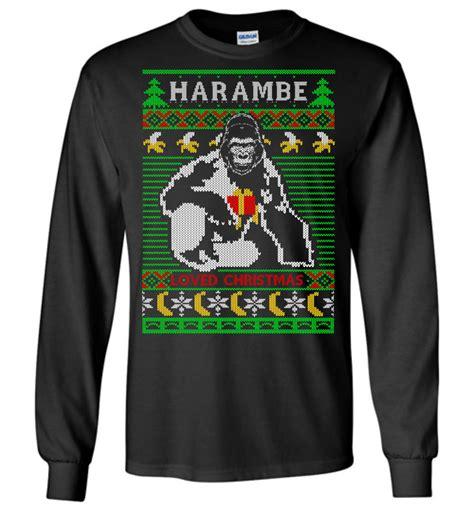 Sweater Harambe harambe sweater the wholesale t shirts