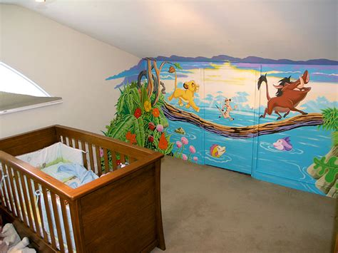 Zebra Wall Murals decorating your nursery new kids center