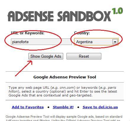 adsense sandbox adsense strumenti per guadagnare guadagno col blog