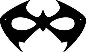 image gallery nightwing printable mask