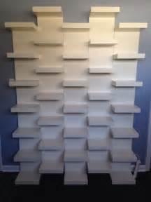 wall shelving units ikea 15 best ideas about shoe display on shoe