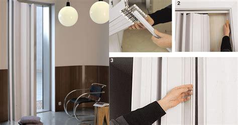 porte a soffietto brico installare porte a soffietto bricoportale fai da te e