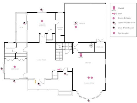 security floor plan exle image house plan with security layout