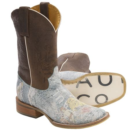 tin haul boots tin haul faded cowboy boots for 6732p save 30