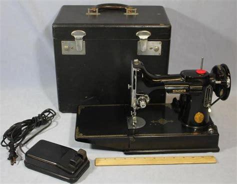 singer featherweight 221 vintage sewing machine 1950 1950 vintage singer 221 1 featherweight sewing machine