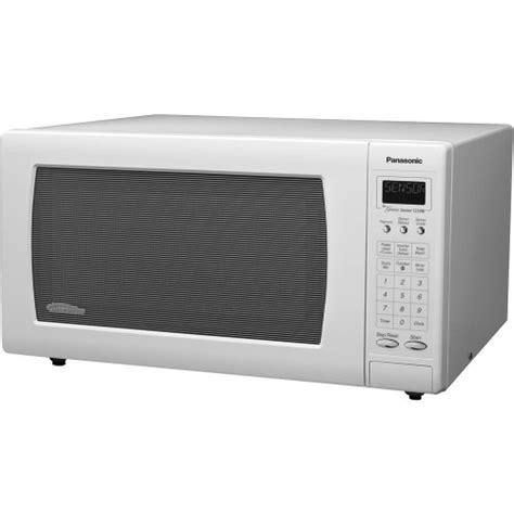 Microwave Panasonic Low Watt panasonic nn h765wf genius 1 6 cuft 1250 watt sensor
