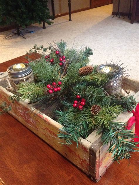 decorating coffee table for christmas ponterest rustic coffee table decor my creations rustic coffee and