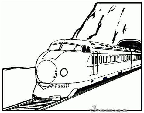 Coloriage Train Tgv L