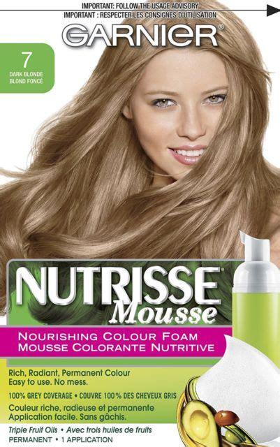 garnier foam hair color garnier nutrisse nourishing color foam permanent hair