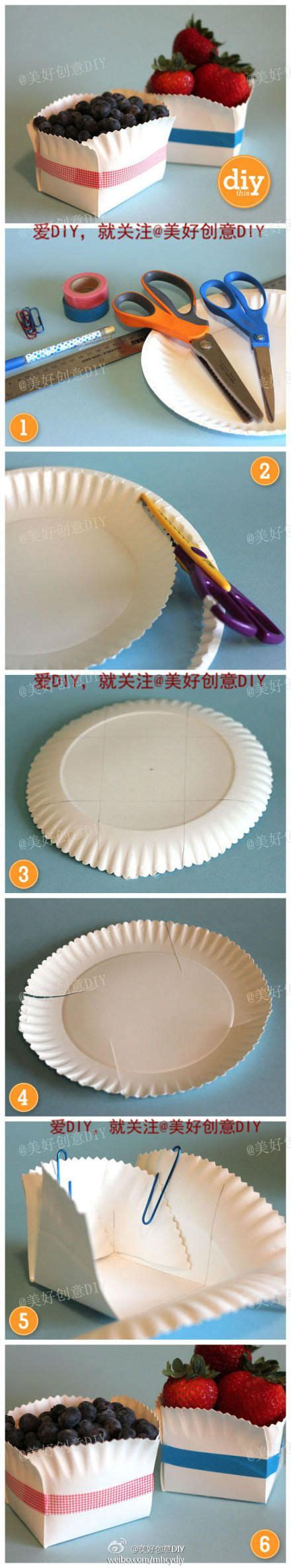 Make A Bowl Out Of Paper - make a bowl out of paper plates crafty