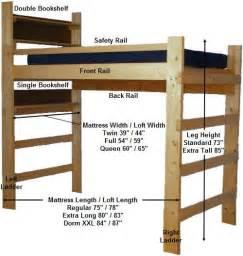 college bunk beds best 25 loft beds ideas on college loft
