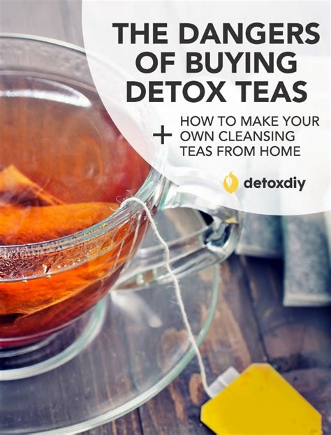 Detox Drinks You Can Buy dangers of buying detox teas how to make your own my