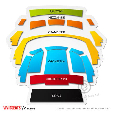 att performing arts center seating chart tobin center for the performing arts seating chart