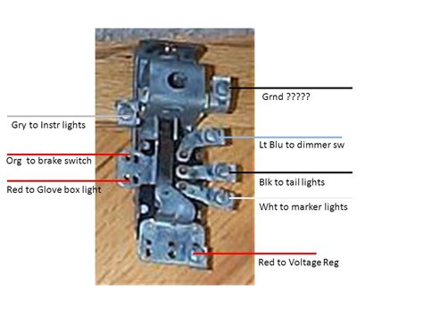 1994 dodge ram headlight switch wiring diagram wirdig