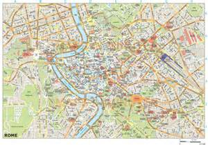 royalty free rome illustrator vector format city map