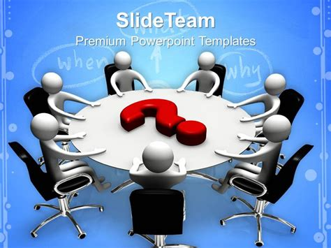 Corporate Business Strategy Templates Board Meeting Ppt Layouts Powerpoint Template Team Meeting Powerpoint Templates
