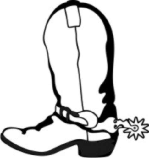 Free Coloring Pages Of How To Draw Cowboy Boots Drawing Of A Cowboy Boot Printable