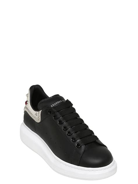 mcqueen sneakers mens lyst mcqueen 45mm studded leather platform