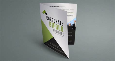 one fold brochure template free corporate brochure template wakaboom