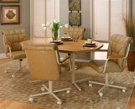 kitchen table with swivel chairs kitchen table with swivel chairs oak kitchen table and