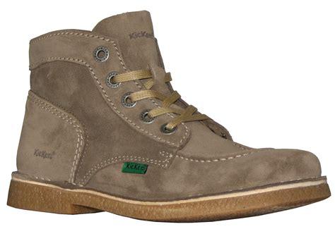 Kickers Legend Krem office shoes shop