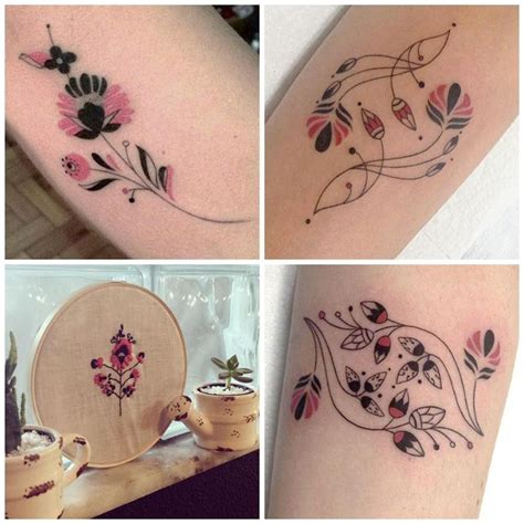 embroidery tattoo 280 best tattoos images on ideas