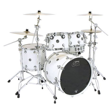 imagenes baterias musicales dw dw performance pearlescent white 171 drum kit