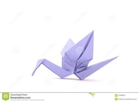 Origami Article - origami bird child paper articles royalty free stock