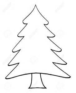clipart christmas tree outline clipartsgram com