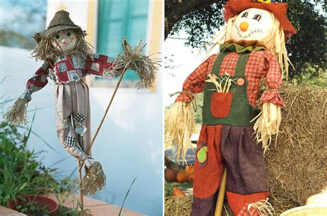 make your own halloween decorations gardening with children diy decor how to make a scarecrow the budget decorator