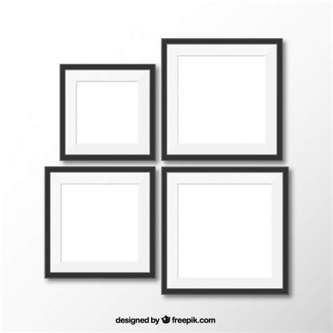 realistic frames vector free download