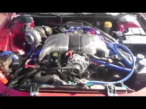 subaru svx twin turbo subaru svx eg33 turbo gt30bb youtube