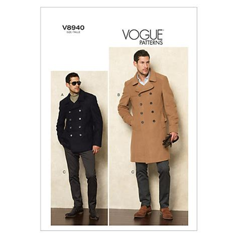 Buy Vogue Men's Jacket and Trousers Sewing Pattern, 8940