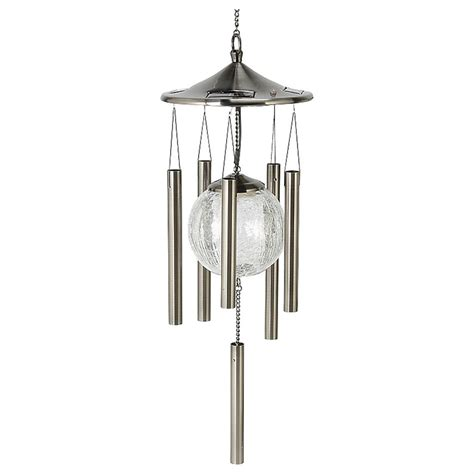 Solar   powered Lighted Wind Chimes   214697, Decorative