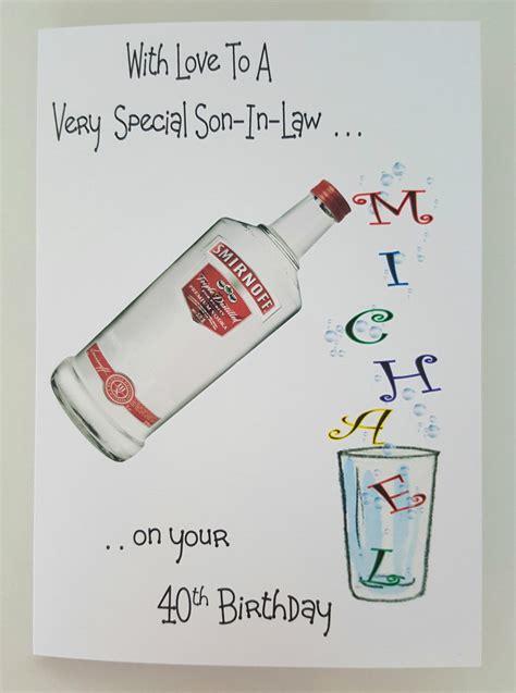 Rum Birthday Card
