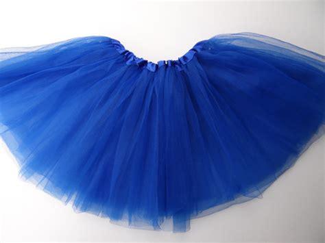 royal blue tutu skirt ballet tutu with belt by ingridelizabeth