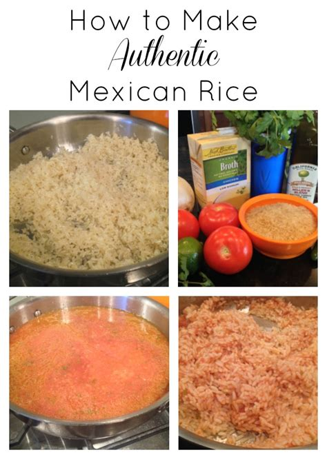 how to make authentic mexican rice recipe