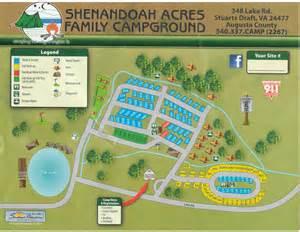 acres resort map cground map shenandoahacresfamilycground