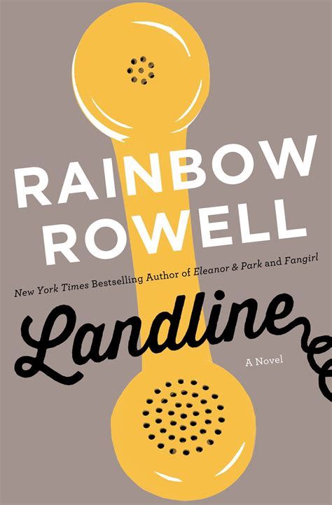 libro landline landline by rainbow rowell someone once wrote