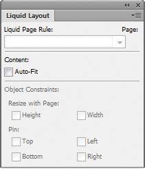 liquid layout on indesign indesign tutorial resize a page using indesign cs6 s