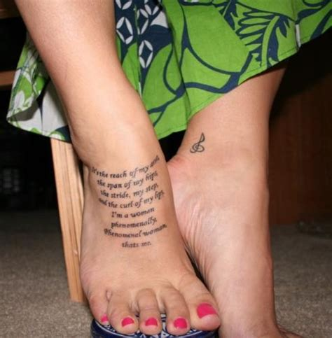 ankle tattoo placement foot quote tattoos www pixshark images galleries