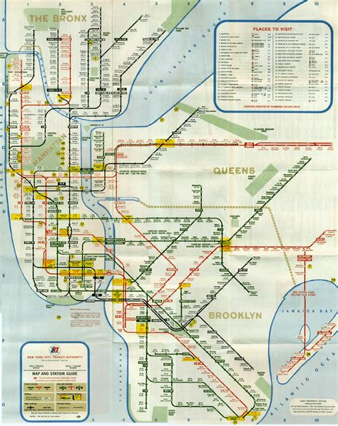 subway map a new subway map on the horizon for new york city this