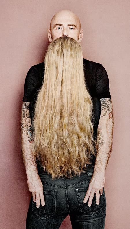 long hair beards