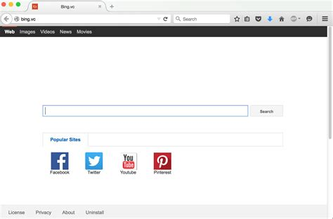 noredirect chrome in google chrome the web browser has changed to bing