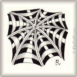 zentangle pattern fracas muster elatorium zentangle