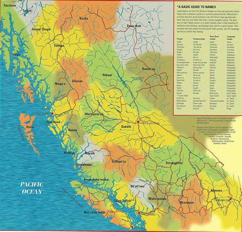 canadian map of nations nations land rights and environmentalism in