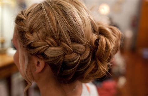 Wedding Updos Braids by Braided Wedding Hairstyle Bridal Updo Onewed
