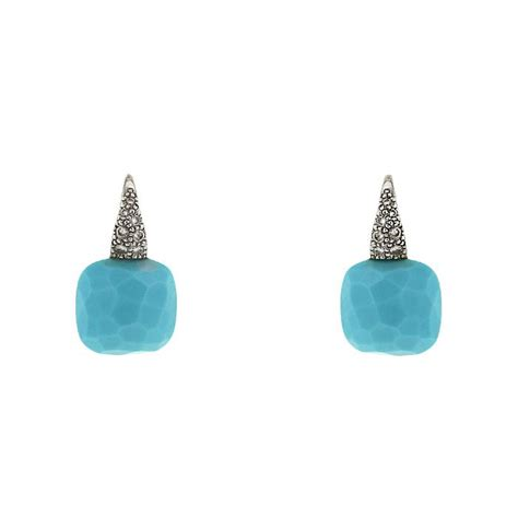 pomellato earrings pomellato earring 335412 collector square